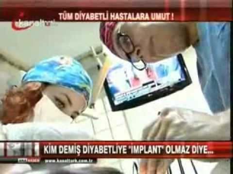 Tanfer Klinik Diyabet hastalarına implant yapılabiliyormu ? Dr.Nihat Tanfer